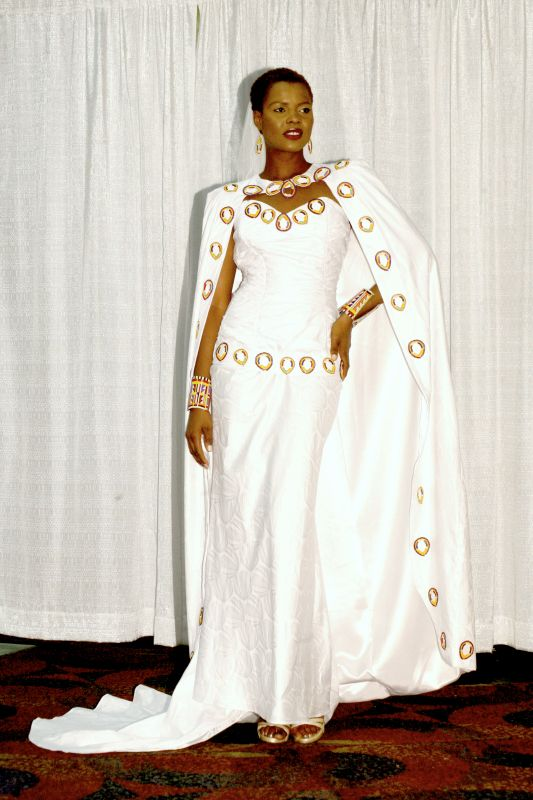 african wedding dress cape - FMag.com