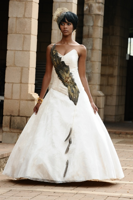 37 gorgeous african wedding dresses for African white wedding dresses