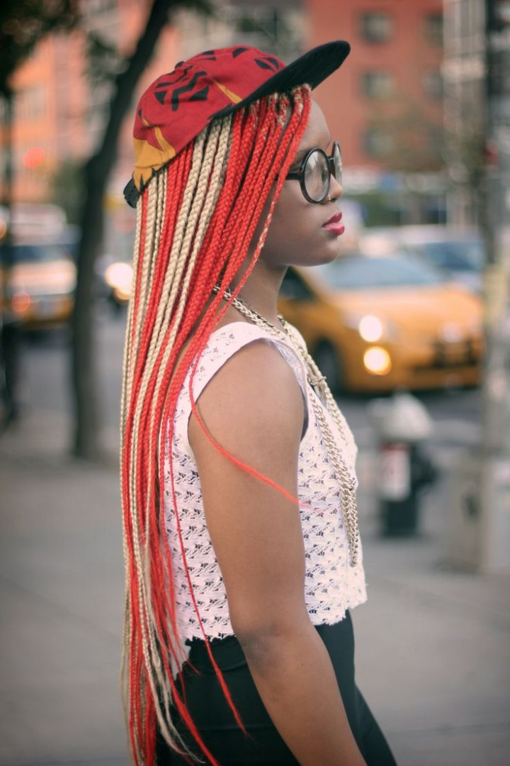 Colorful Micro Braids Fmag Com