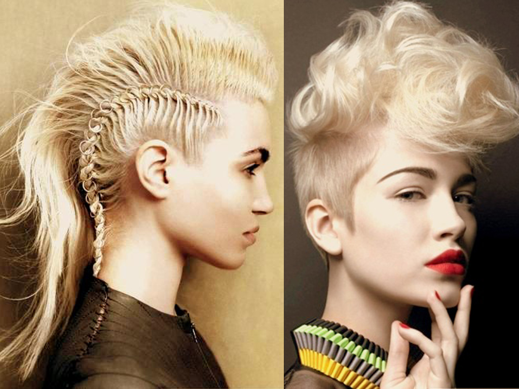 Hair Style Mohawk: 20 Spectacular Mohawk Hairstyles For Any Hair Length
