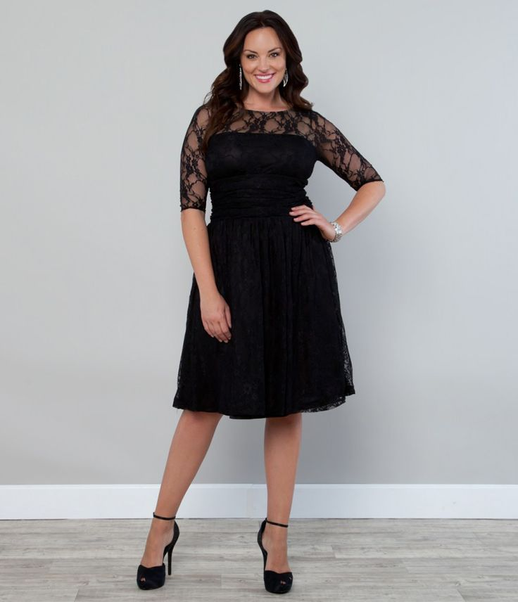 plus size a line dress - FMag.com