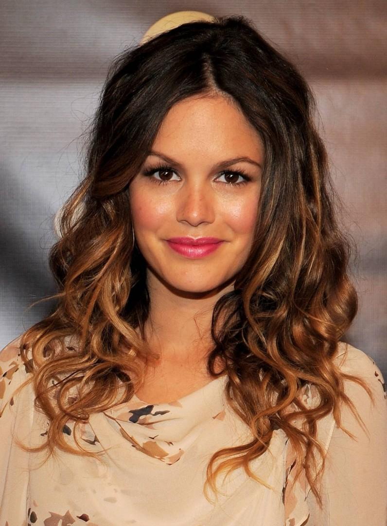 Rachel Bilson Curly Hair Ombre Fmag Com