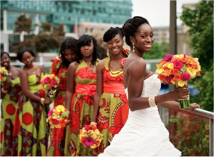 African Wedding Gowns: 37 Gorgeous African Wedding Dresses