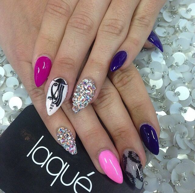 Acrylic Stiletto Nails Fmag
