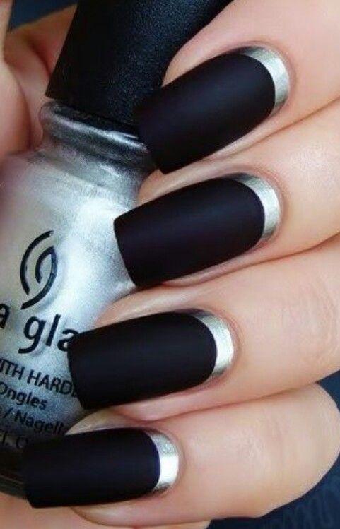 black silver acrylics - FMag.com