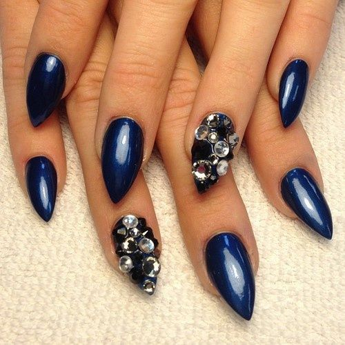 Nail Art Midnight Blue: A Guide To The Best Acrylic Nail Designs
