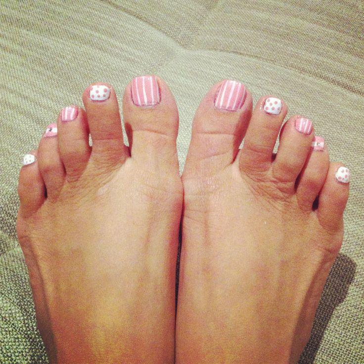 Pastel Pink Toe Nail Deisgns Fmag Com