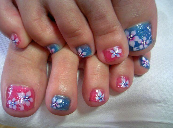 Flowery Nail Art Fmag