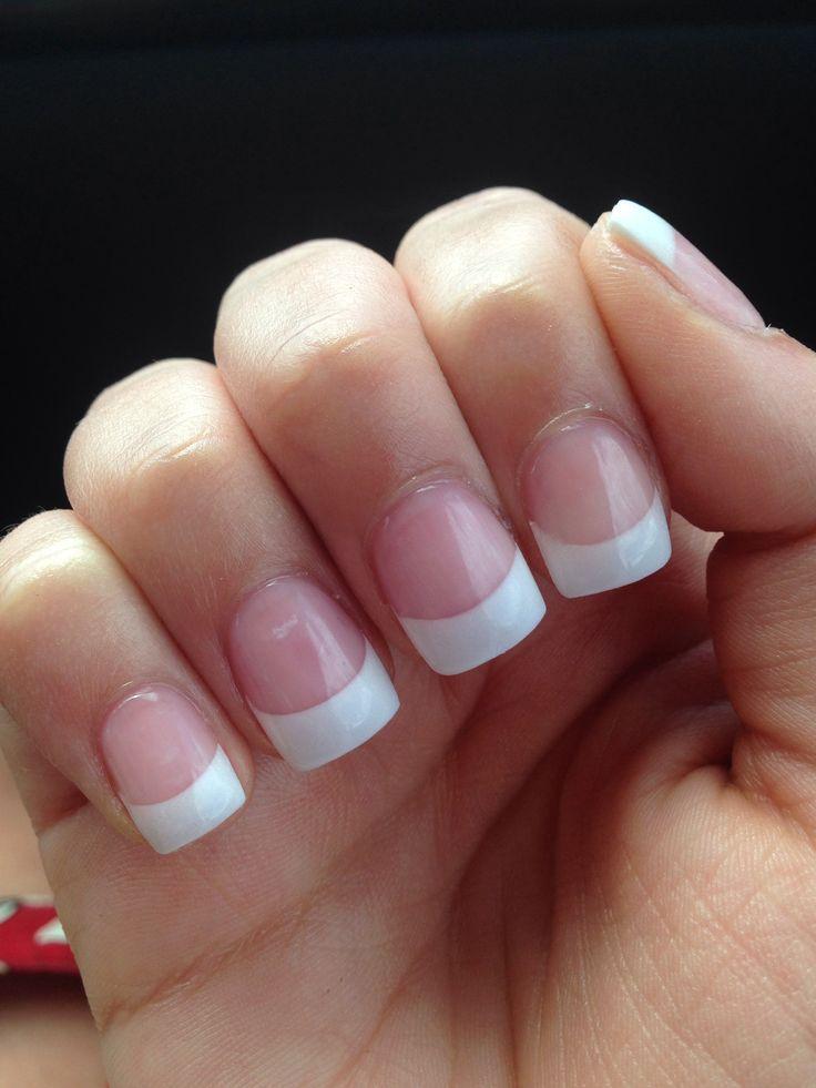 pink white solar nails - FMag.com