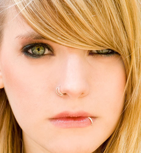 cute double nose ring - fmag.com