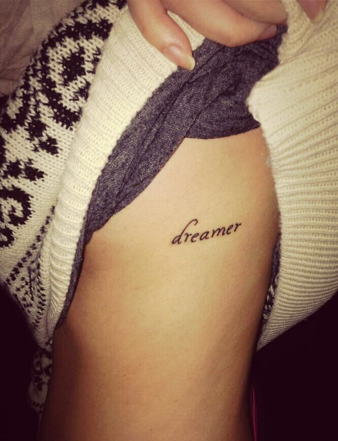 Dreamer for Dating a woman with tattoos