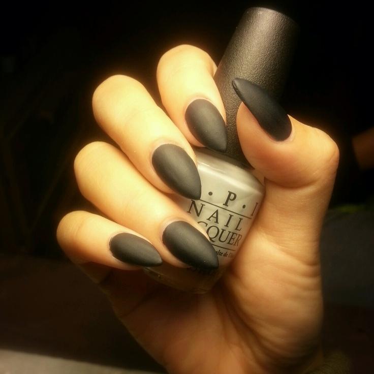 Black Matte Almond