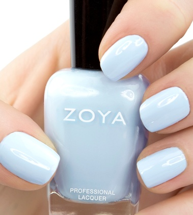 Pale Blue Wedding Nails Fmag Com