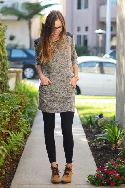 Tunics to Wear with Leggings - fmag.com