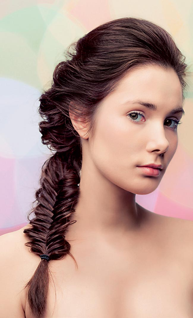 different styles for medium length hair fishtail pony for medium length hair fmag 2247