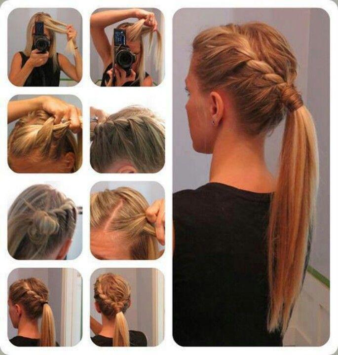 Excellent How To Style Ponytail Braids Braids Short Hairstyles Gunalazisus