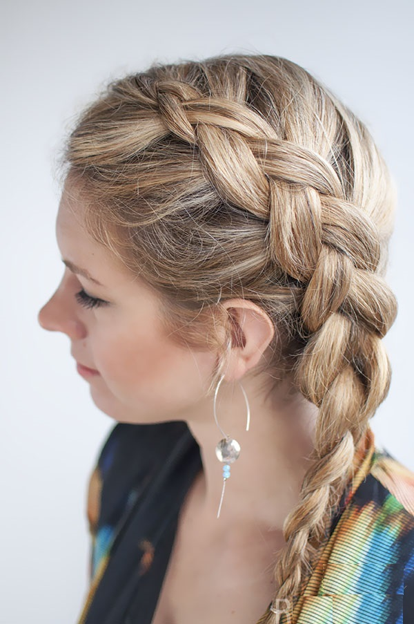 different ponytail styles for medium hair side braided ponytail for medium length hair fmag 8241