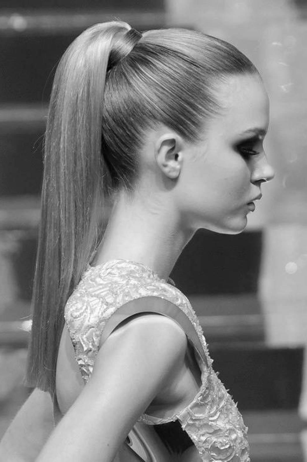 Pleasant Sleek Cute Ponytail Hairstyle Fmag Com Short Hairstyles Gunalazisus