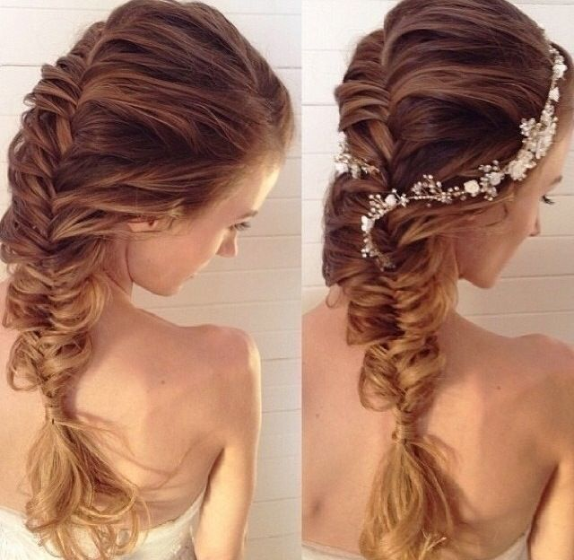 French Fishtail Braid With Accessory Fmag Com