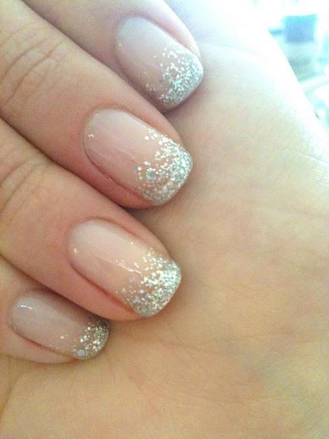 Glitter Ombre Nails - FMag.com