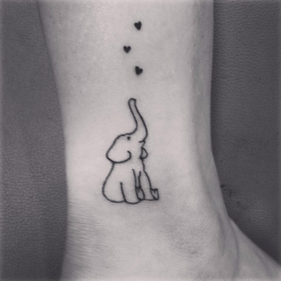 White elephant tattoos images for tatouage white elephant tattoos within cute elephant tattoo with hearts fmag jeuxipadfo Choice Image