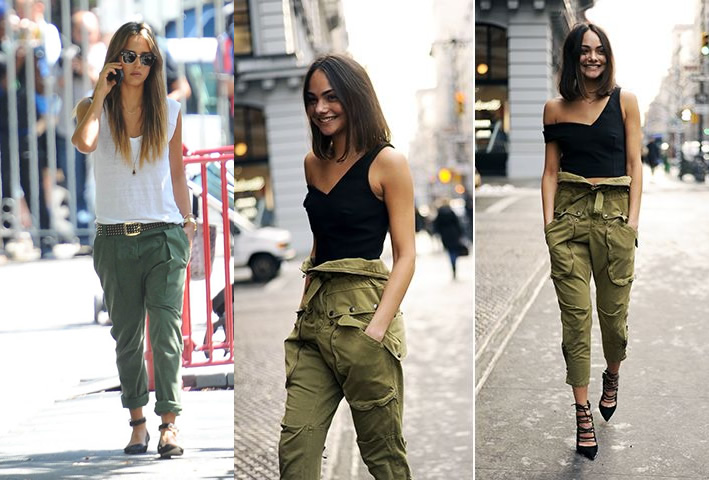 10 Amazing Ways to Wear Cargo Pants for Women - FMag.com