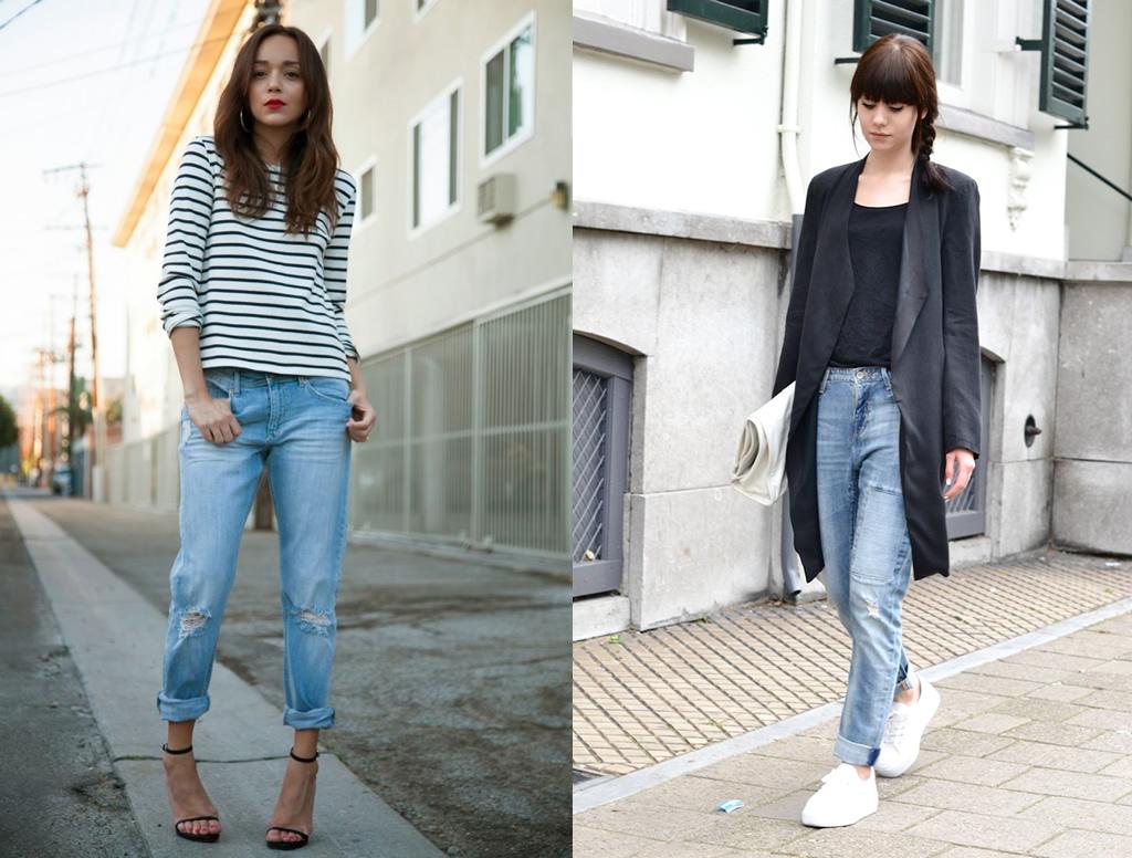 11 Beautiful Ways To Wear Boyfriend Jeans as a Girlfriend - FMag.com