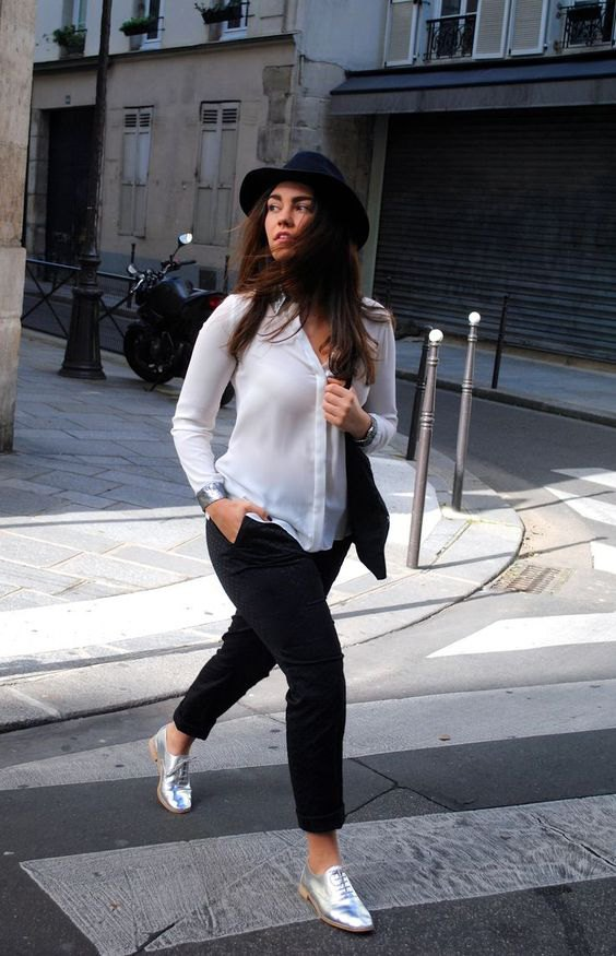 How To Wear Silver Metallic Shoes 13 Top Outfit Ideas