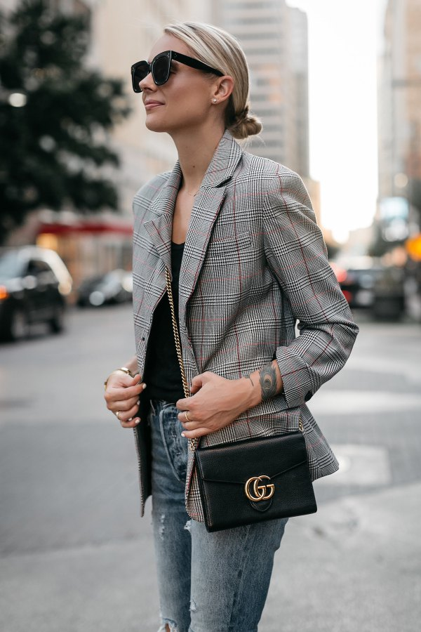 15 Stylish Plaid Jacket Outfit Ideas For Women