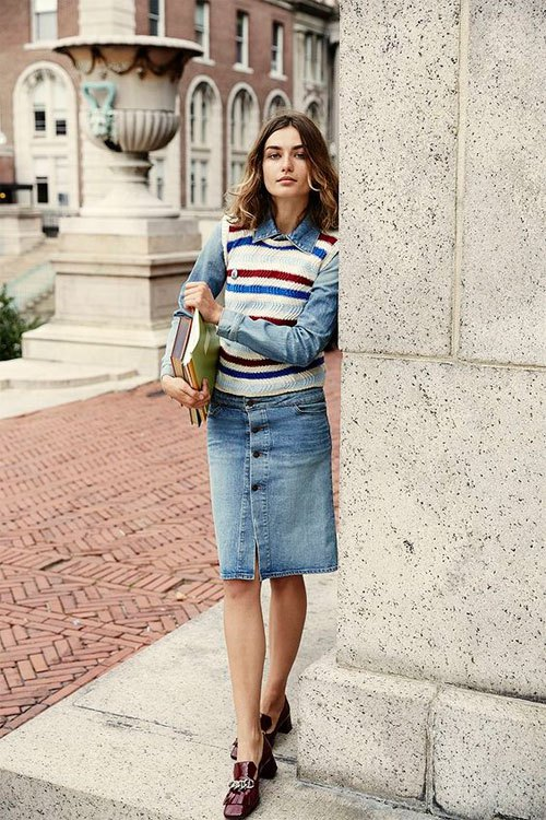 How To Style Sweater Vest 15 Cozy Outfit Ideas For Women Fmag Com Our wide selection is elegible for free shipping and free returns. how to style sweater vest 15 cozy