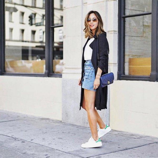 Platform Tennis Shoes Outfit Ideas