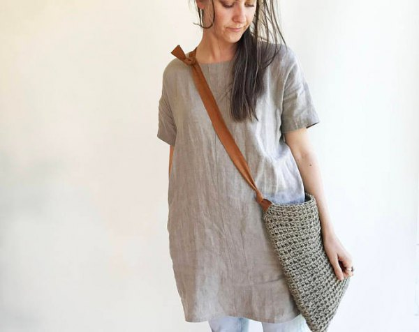 How To Style Linen Tunic Top 13 Breezy Outfit Ideas For
